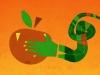 Take the apple